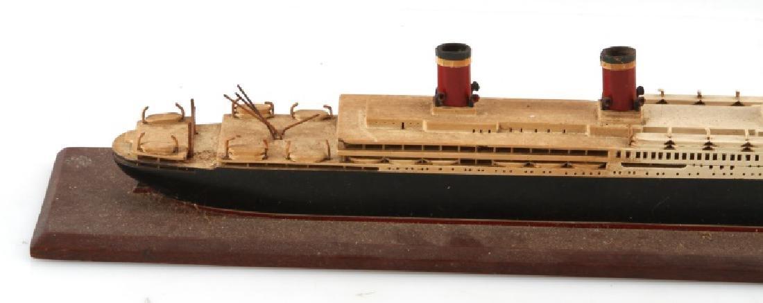 ANTIQUE LEVIATHAN SHIP MODEL - 6