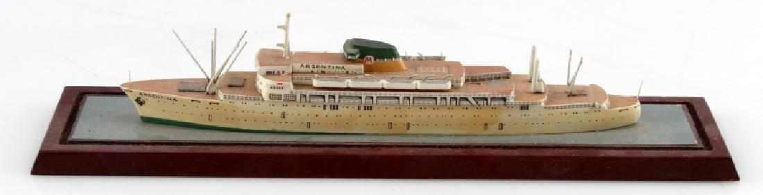 ANTIQUE MODEL SHIP ARGENTINA