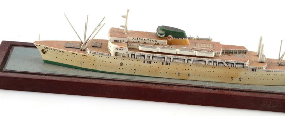 ANTIQUE MODEL SHIP ARGENTINA - 2