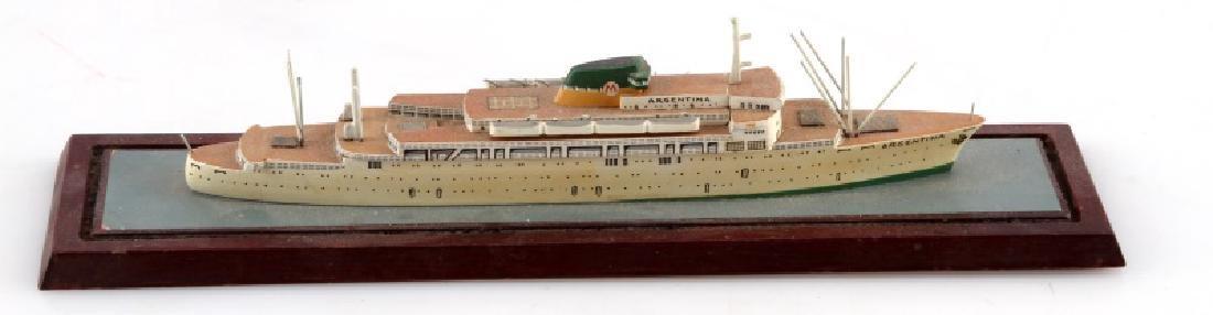 ANTIQUE MODEL SHIP ARGENTINA - 4