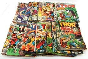 LOT 32 THE MIGHTY THOR COMIC BOOKS MARVEL 147-314
