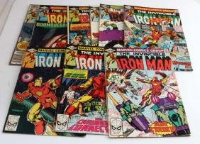 LOT OF 10 - INVINCIBLE IRON MAN COMIC BOOKS MARVEL