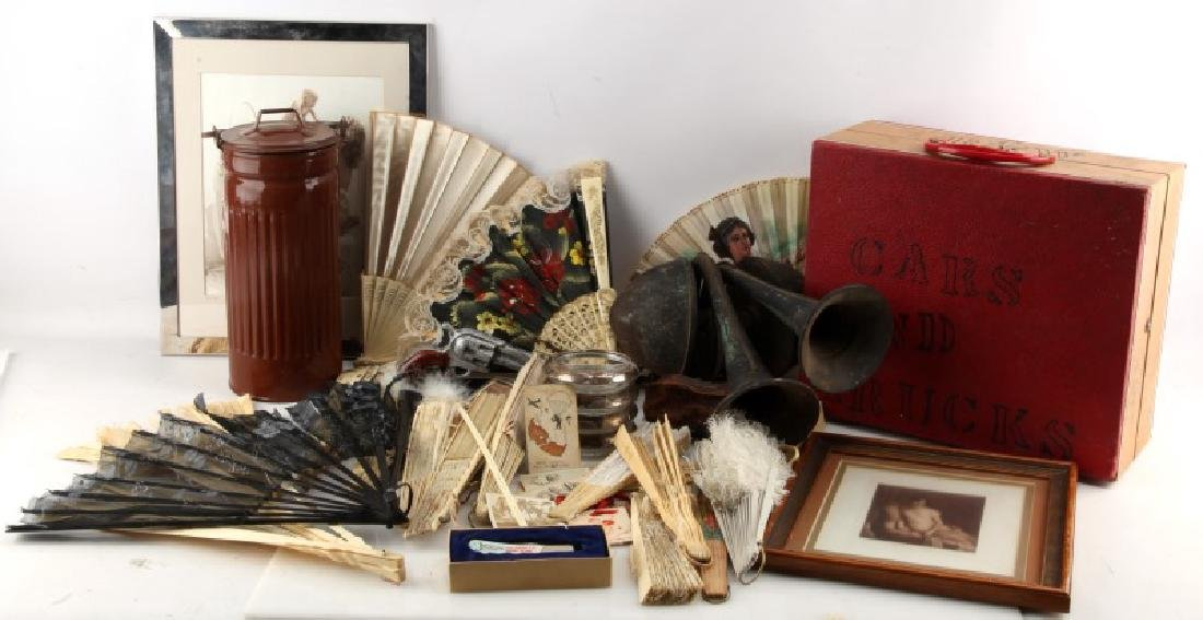 LOT OF GENERAL VINTAGE & ANTIQUE COLLECTABLES