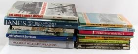 LOT - MILITARY BOOKS AIRCRAFT WEAPONS JANE'S WWII