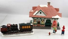 THE ORIGINAL SNOW VILLAGE STATION AND TRAIL
