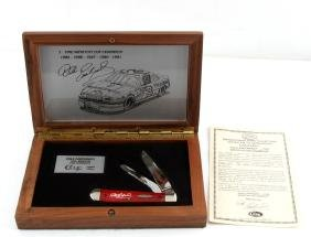 1991 WINSTON CUP CHAMPION DALE EARNHARD CASE KNIFE