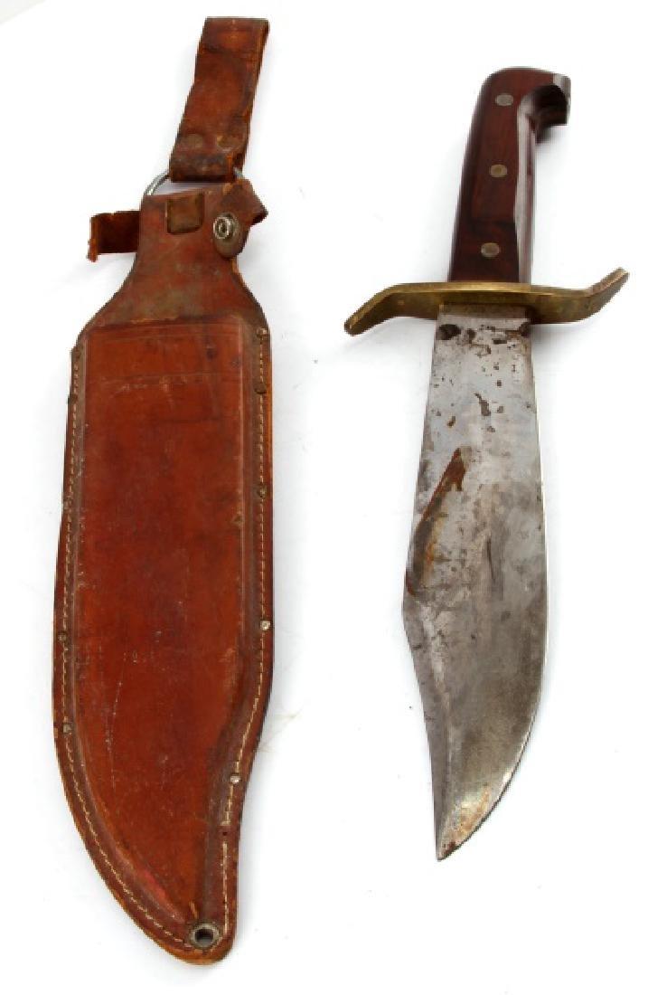 VINTAGE 1960S WESTERN W49 BOWIE KNIFE BOULDER CO