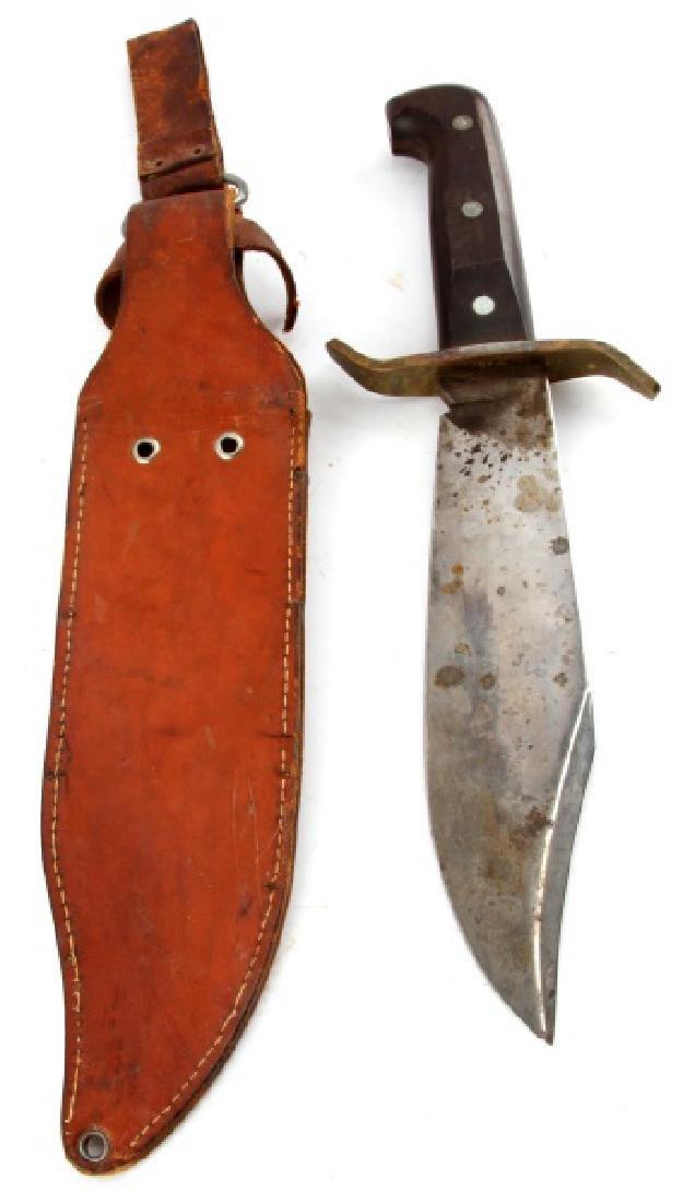 VINTAGE 1960S WESTERN W49 BOWIE KNIFE BOULDER CO - 4