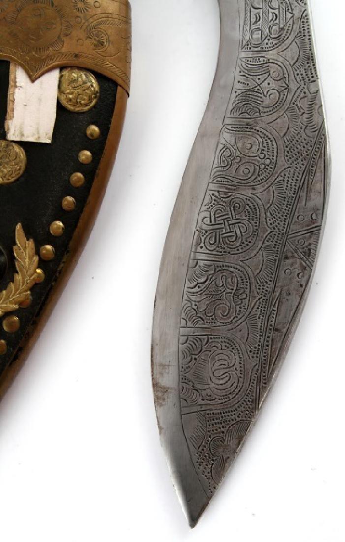 NEPALESE NEPALI KUKRI KHUKURI GURKHA KNIFE - 5