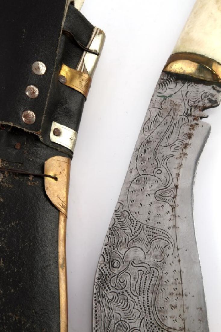 NEPALESE NEPALI KUKRI KHUKURI GURKHA KNIFE - 8