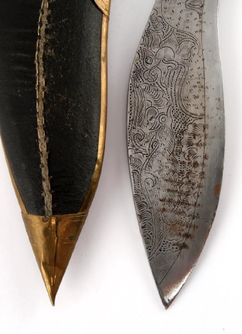 NEPALESE NEPALI KUKRI KHUKURI GURKHA KNIFE - 9