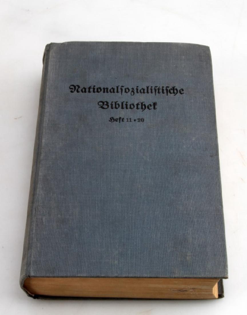 THIRD REICH NSKK BOOK FROM ADOLF HITLER'S LIBRARY