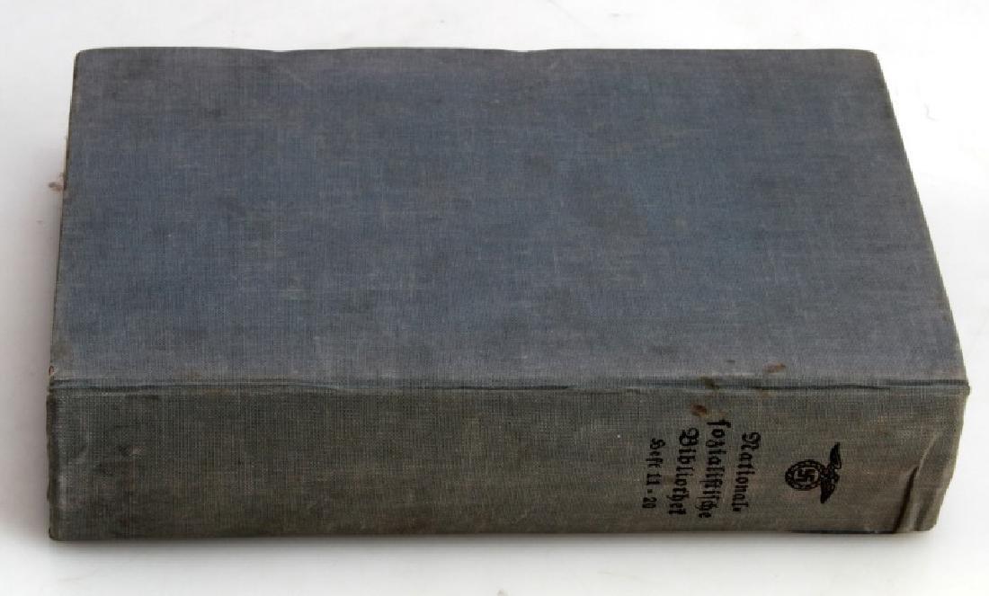 THIRD REICH NSKK BOOK FROM ADOLF HITLER'S LIBRARY - 5