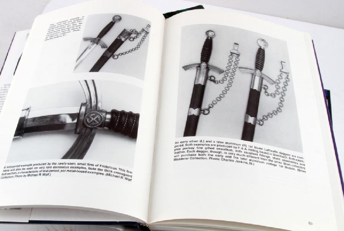 BOOK LOT EXPLORING DRESS DAGGERS OF GERMAN ARMY - 2