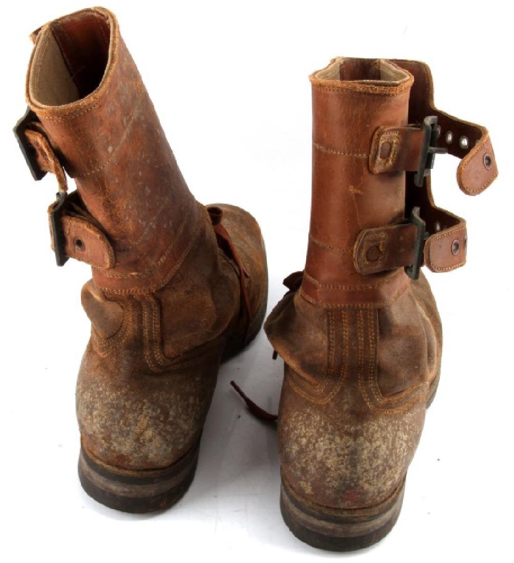 WWII M 1943 DOUBLE BUCKLE COMBAT BOOTS - 3