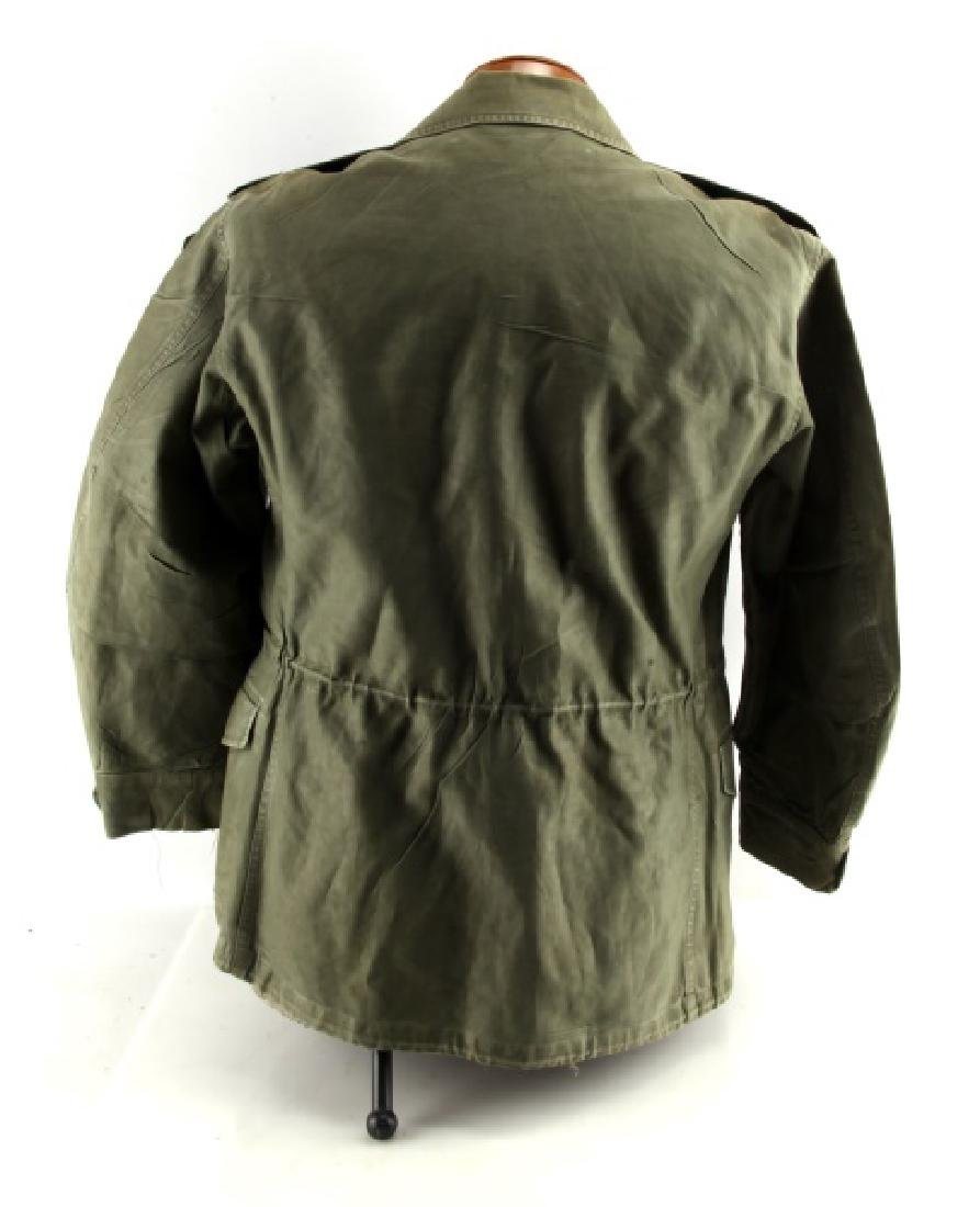 VINTAGE US ARMY FIELD JACKET COLONEL AIRBORNE OVAL - 4