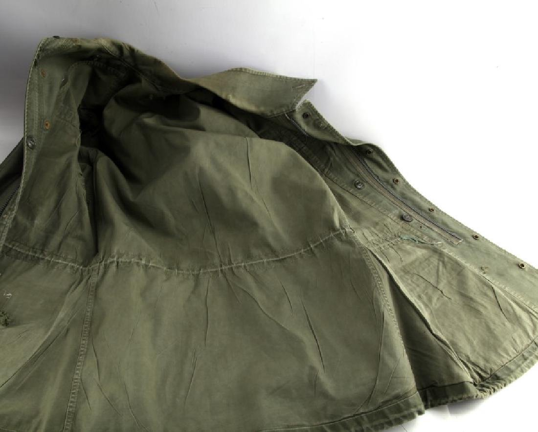 VINTAGE US ARMY FIELD JACKET COLONEL AIRBORNE OVAL - 5