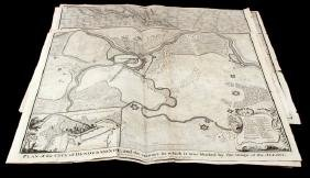 BATTLE MAPS AND PLANS OF EUROPE IN THE 1700'S