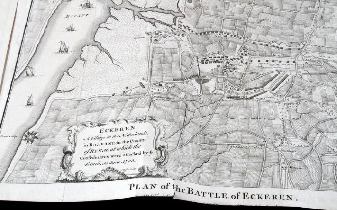 BATTLE MAPS AND PLANS OF EUROPE IN THE 1700'S - 5