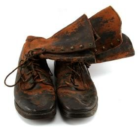 WWII BOSTON DEPOT 1942 MENS BOOTS