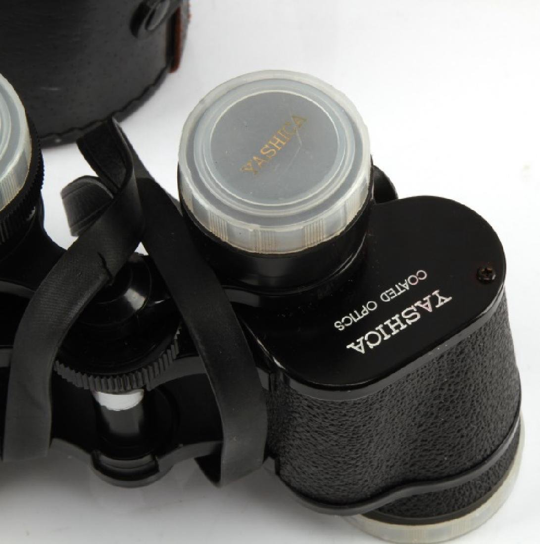 YASHICA COATED OPTICS 7 X 35 FIELD 10 BINOCULARS - 3