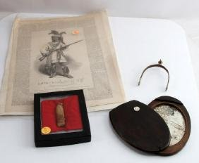 LOT OF ASSORTED COLLECTIBLE CIVIL WAR ITEMS