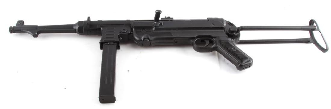 AIRSOFT REPRODUCTION WWII GERMAN MP-40 MACHINE GUN - 2
