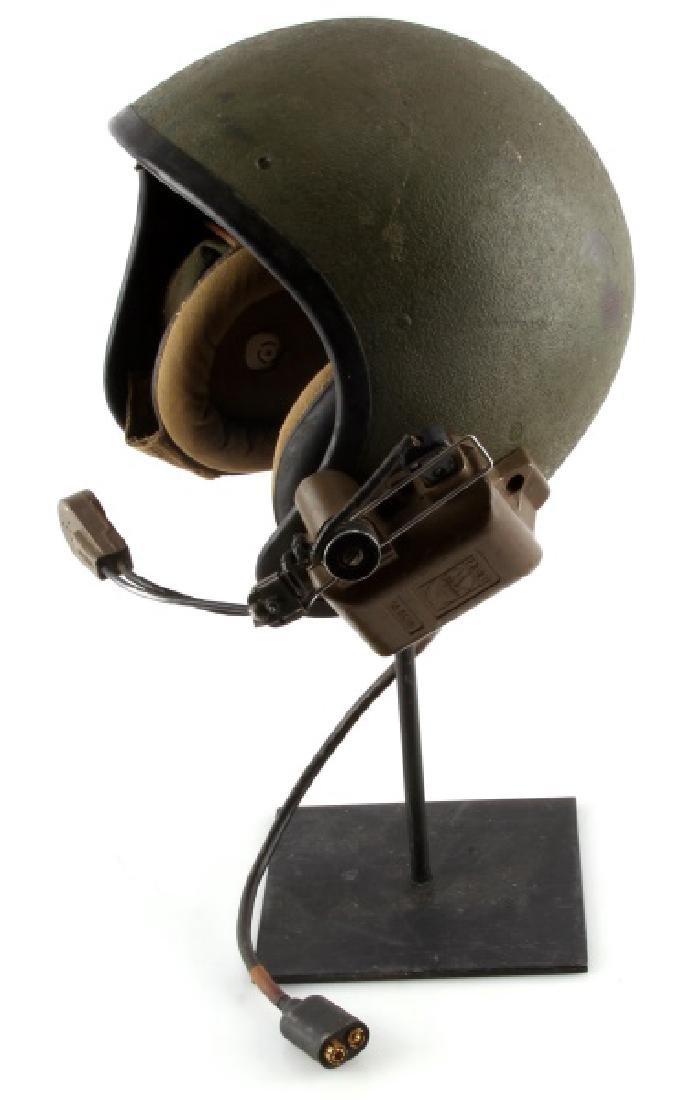 VIETNAM TANKERS HELMET W ISC MIC & HEADPHONES - 2