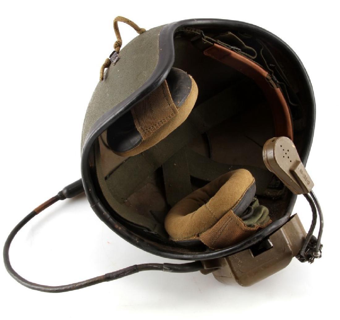VIETNAM TANKERS HELMET W ISC MIC & HEADPHONES - 3