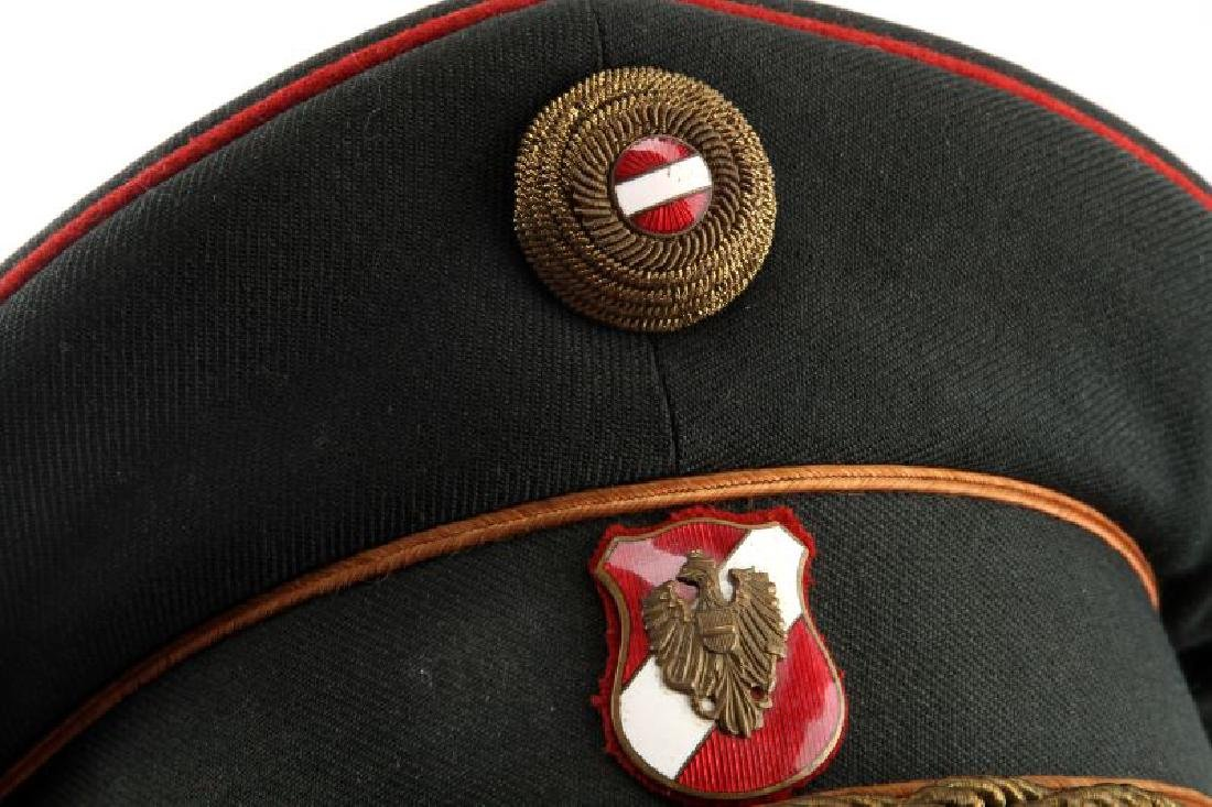 AUSTRIAN POST WAR BORDER POLICE SERVICE CAP - 2
