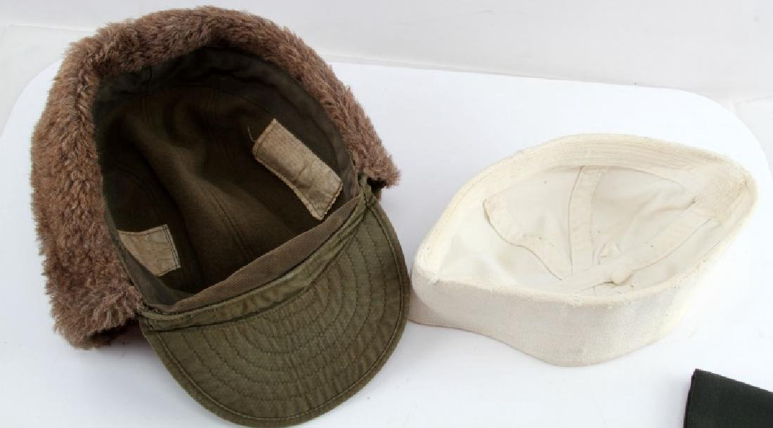 WWII AND POST WAR US MILITARY UNIFORM HEADWEAR - 6