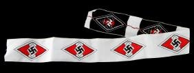 6 HITLER YOUTH PATCHES UNCUT