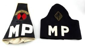 VIETNAM 7TH INFANTRY & SIGNAL CORP MP ARMBAND