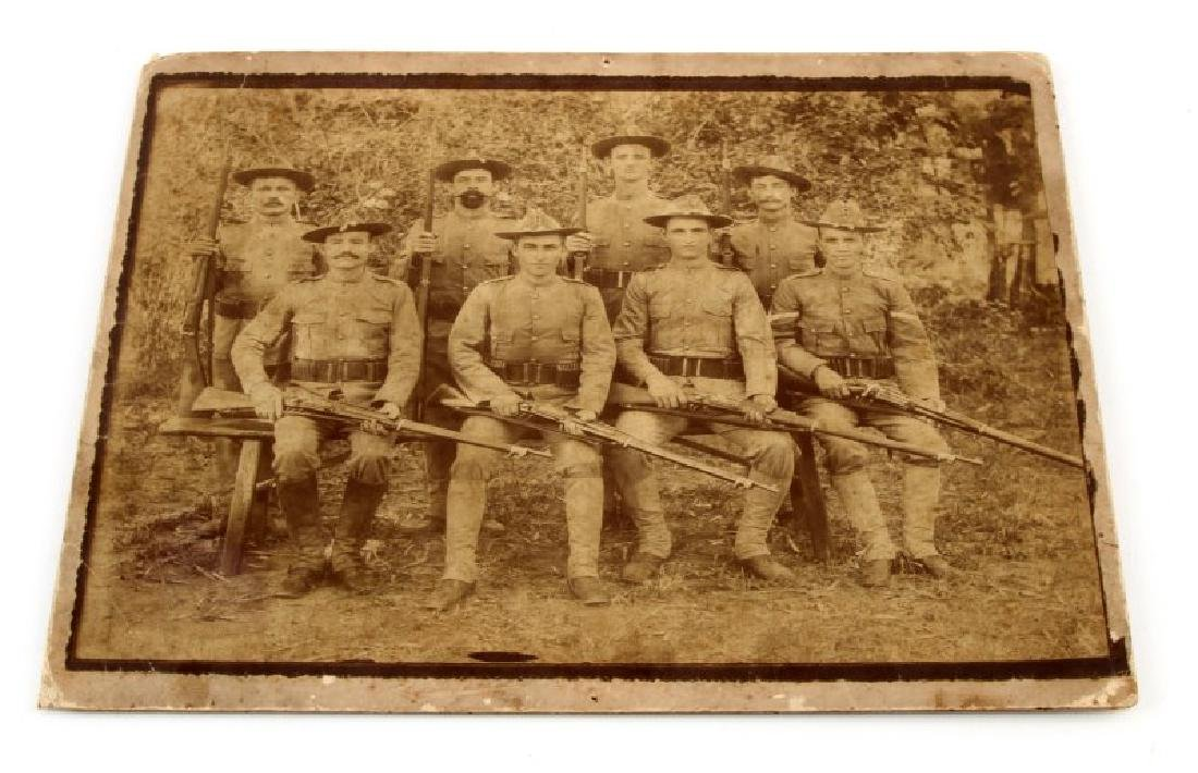 SPANISH AMERICAN WAR 8TH PHOTOGRAPH 8 SOLDIERS