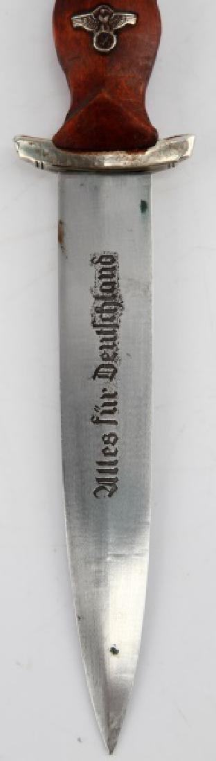 GERMAN WWII THIRD REICH SA MINIATURE DAGGER - 3