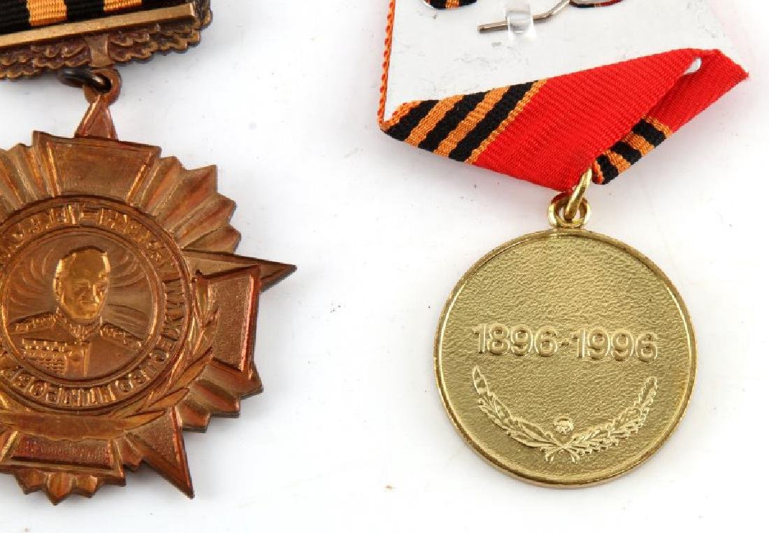 GROUP OF 2 RUSSIAN ZHUKOV MEDALS 100 ANNIVERSARY - 4