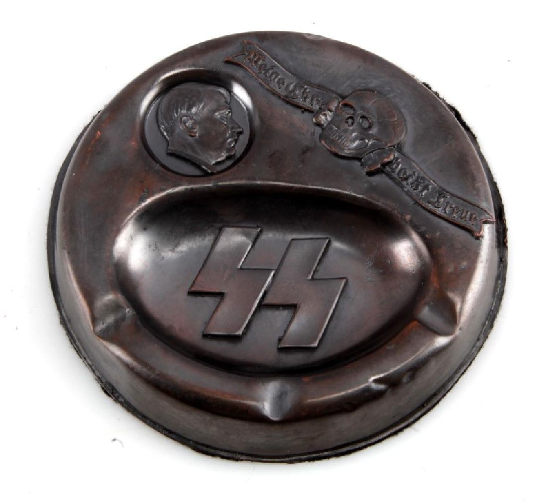 WAFFEN SS ADOLF HITLER ASHTRAY GERMAN WWII