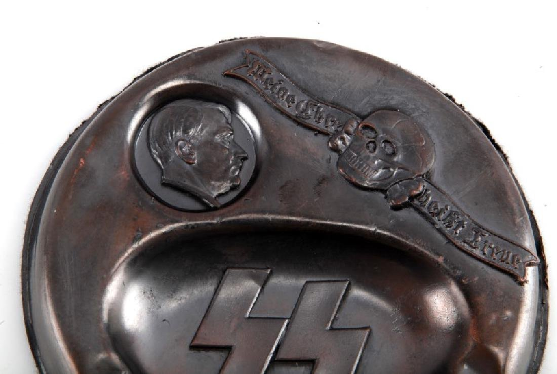 WAFFEN SS ADOLF HITLER ASHTRAY GERMAN WWII - 2