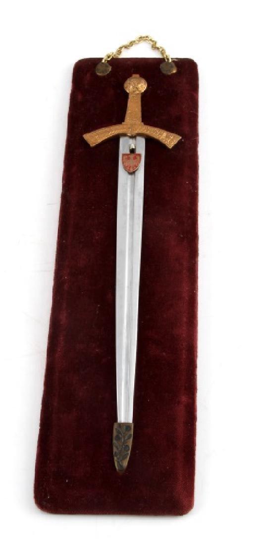 1966 MINIATURE SWORD OF POLISH KINGS