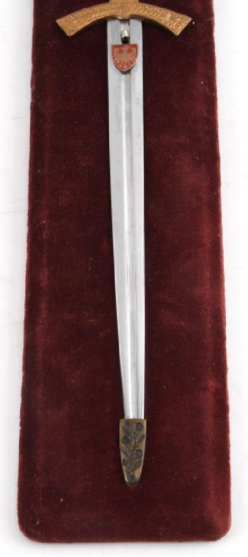 1966 MINIATURE SWORD OF POLISH KINGS - 4