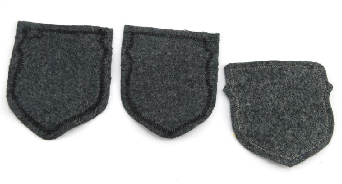 LOT OF 3 - VOLUNTEER PATCHES GERMAN WWII RUSSIA - 4