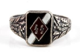 WWII GERMAN 3RD REICH WAFFEN SS HITLER YOUTH RING