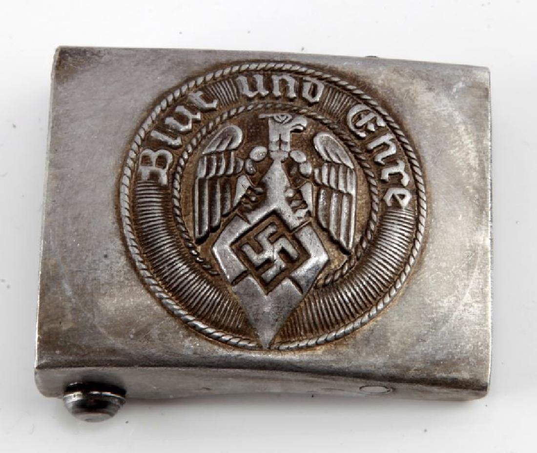 NSDAP THIRD REICH HITLERJUGEND YOUTH BELT BUCKLE