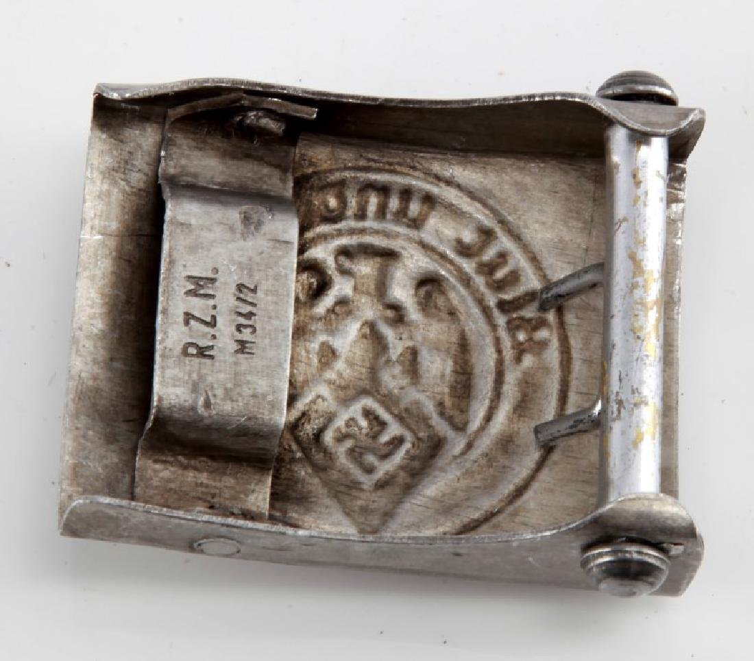 NSDAP THIRD REICH HITLERJUGEND YOUTH BELT BUCKLE - 2