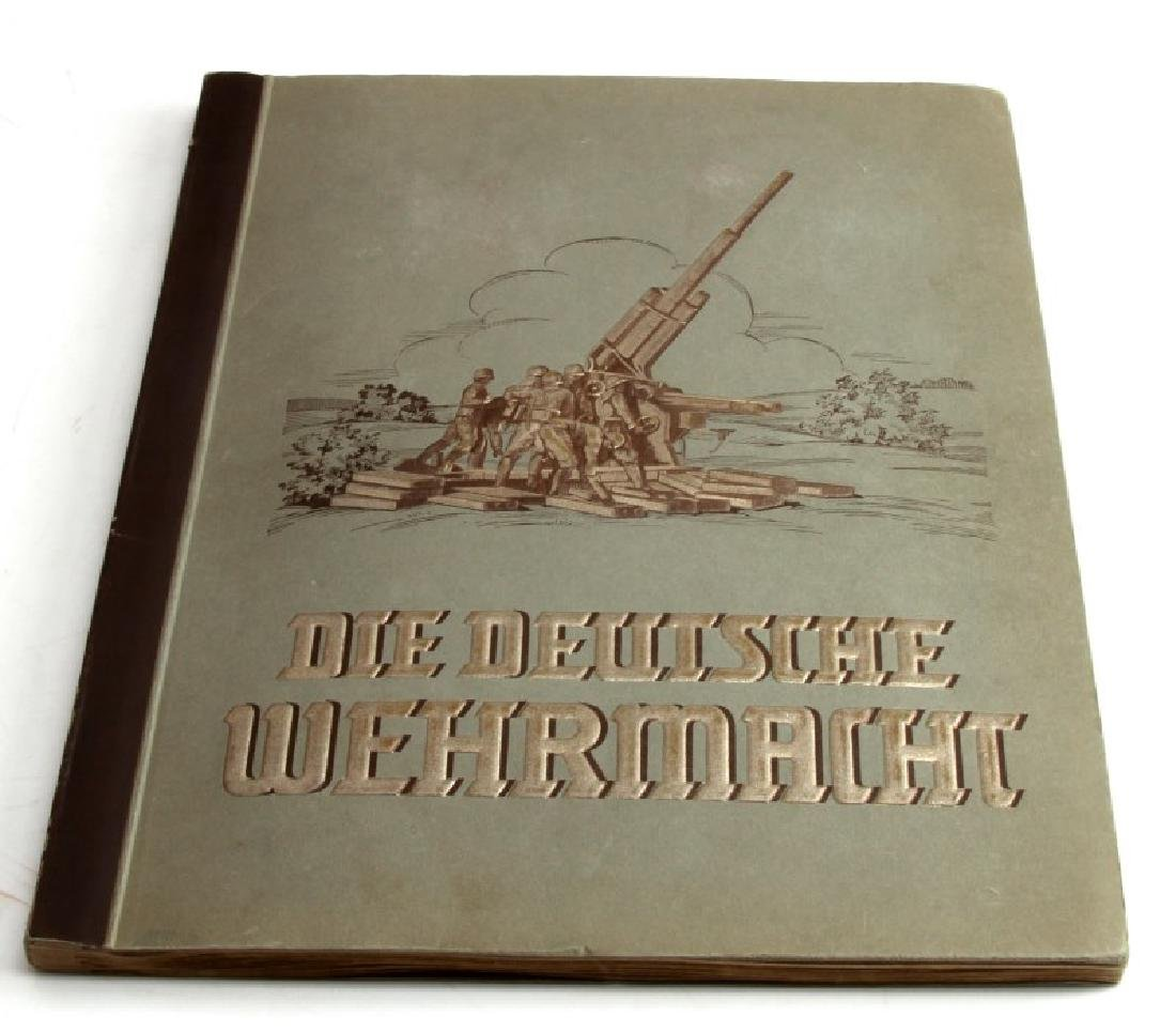 THIRD REICH 1936 MILITARY TOBACCO CARDS ALBUM FULL