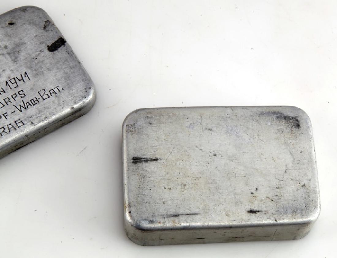 GERMAN WAFFEN SS DIVISION TOTENKOPF TOBACCO BOX - 3