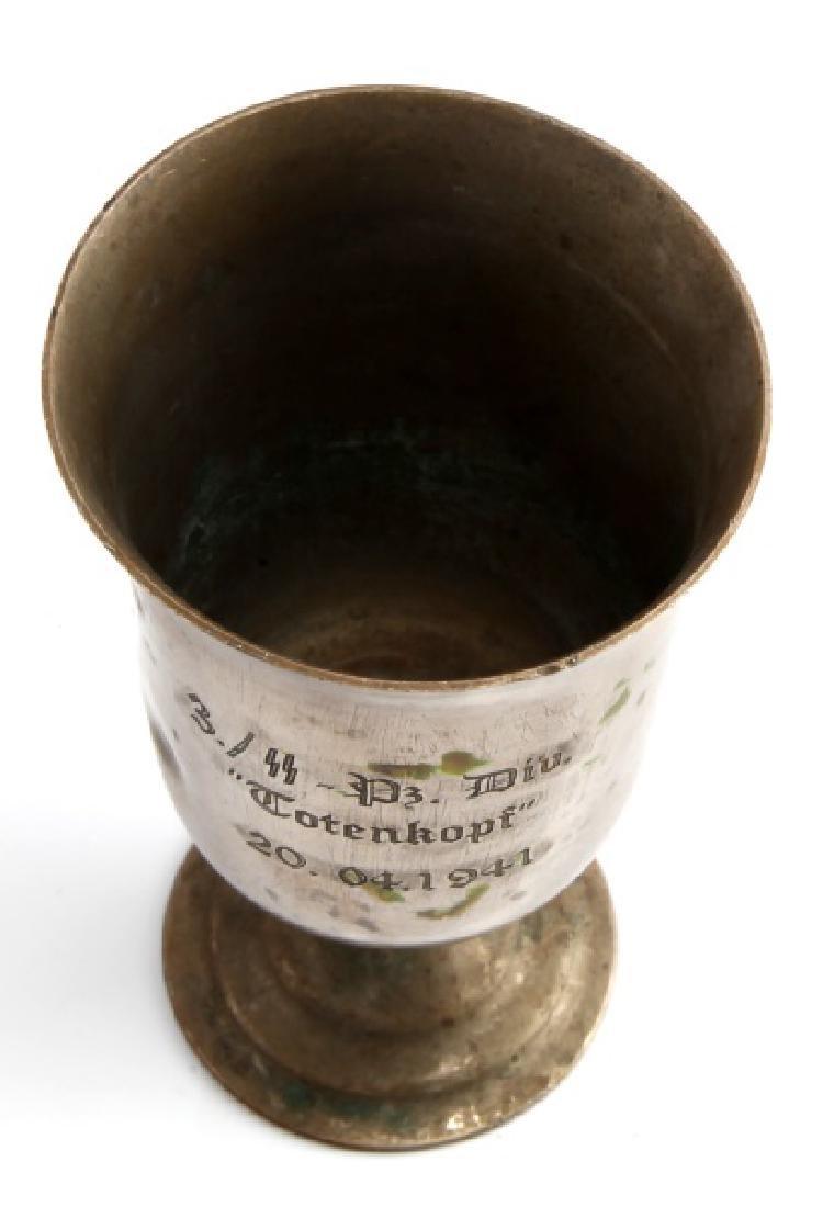 WWII THIRD REICH TOTENKOPF PRESENTATION CUP - 2