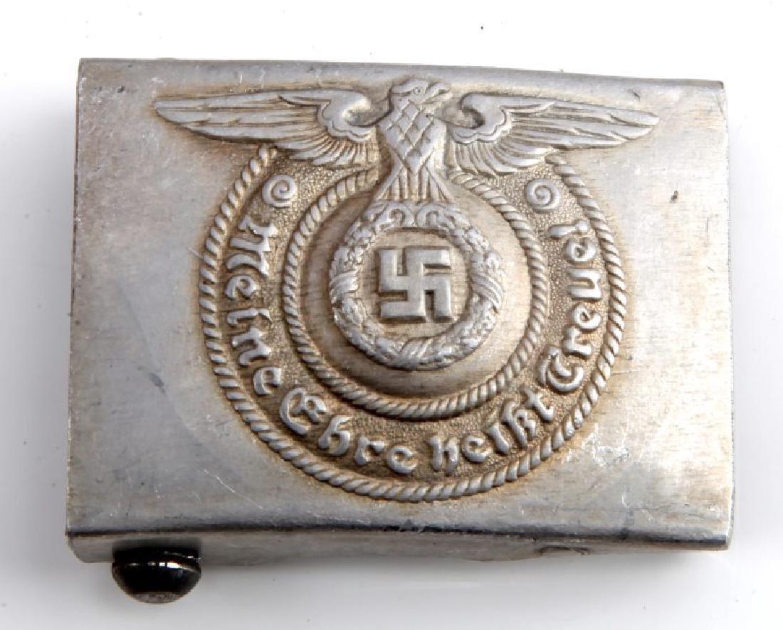GERMAN WWII THIRD REICH WAFFEN SS BELT BUCKLE