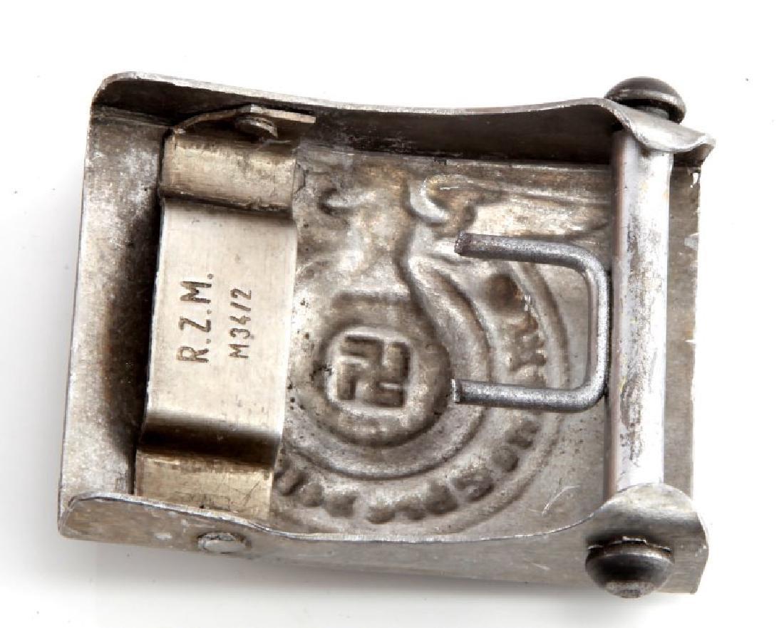 GERMAN WWII THIRD REICH WAFFEN SS BELT BUCKLE - 2