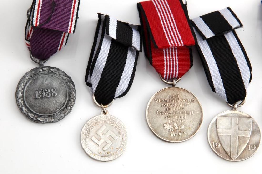 SIX GERMAN THIRD REICH PERIOD MEDALS - 5